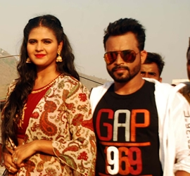 Actress Chandani Singh Completes Shooting Of New Music Video