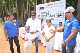 Cricket Pro World Talent League (Under 10) at Karamveer Sports Complex
