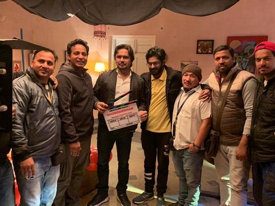 Arya Films Upcoming Hindi Film Doordarshan Shooting In Progress In Mumbai