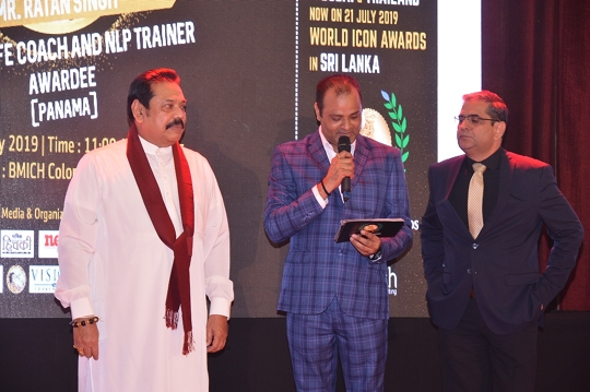 World Icon Award In Sri Lanka