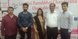 LATE SHRI PARESHBHAI CHANDARANA CHARITABLE TRUST  Inaugurates Its 2nd UNIT  SUPREME SOUL RAJASHRAM