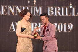 Saazish Sidhu Won Millennium Brilliance Award As Internationally Acclaimed Youngest Emerging Director In Films And Film Productions