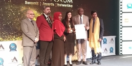 Asian-African Leadership Forum organized a Leadership Award in the National Capital