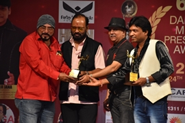 Actor Kalyanji Jana ka success award show  6th Darshnik Mumbai Press Media Award 2019 and Mr and Miss Icon Darshnik Mumbai 2019