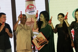 Launching Product of Dhantal Jiya Gold Non Alcholic Beer at Bhuj Kutch