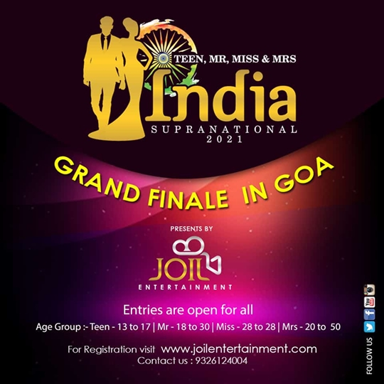 Teen – Mr – Miss – Mrs India Supranational 2021 Season Register Today