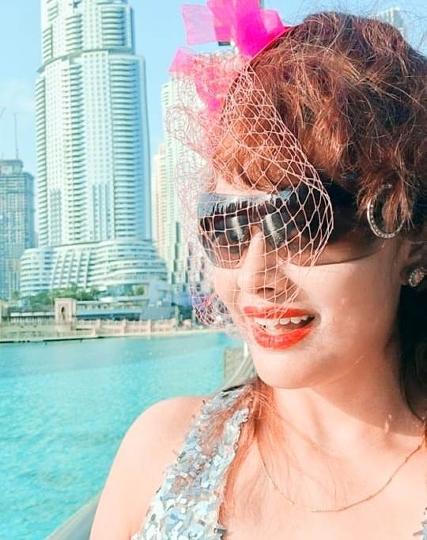 World PEACE Messenger Angel Tetarbe In DUBAI For  Mission World Peace
