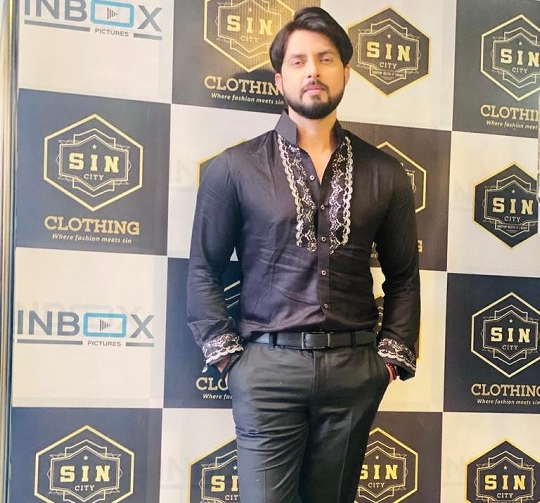 Vikrant Singh Signed for film BAAZI Will Collaborate With Akshara Singh And Rakesh Mishra
