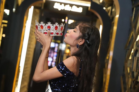Sneha Winner Of  Miss Teen India Universe 2020  Universal A Virtual Edition