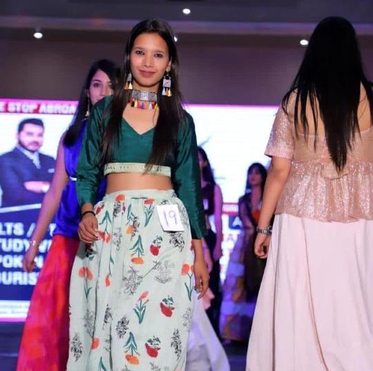 Kavita Saraswal  From Amabala  Sub Title Winner Of Miss Teen India Universe 2020  Presented By Ashwin Rajput